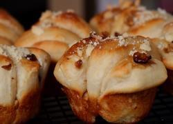 红糖核桃小面包