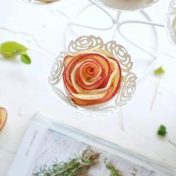 浪漫玫瑰苹果挞