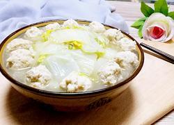 白菜炖肉丸