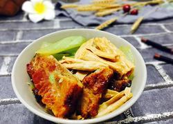 烧排腐竹焖白瓜