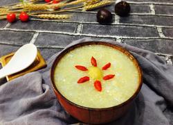 板栗小米粥