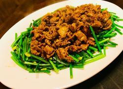 香炒韭菜花牛肉
