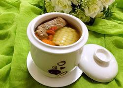 莲藕玉米龙骨汤(电炖锅版)