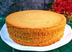 糯米粉条纹戚风蛋糕