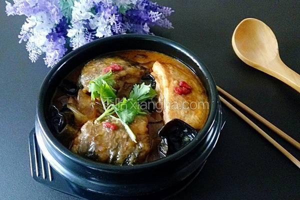 燕鱼豆腐炖粉条