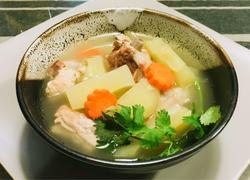 榨菜排骨汤