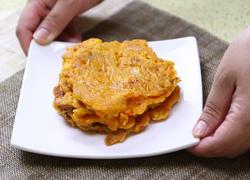 韩式鱿鱼泡菜饼