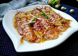 清蒸蒜香皮皮虾