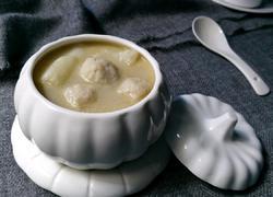 山药炖鱼丸汤