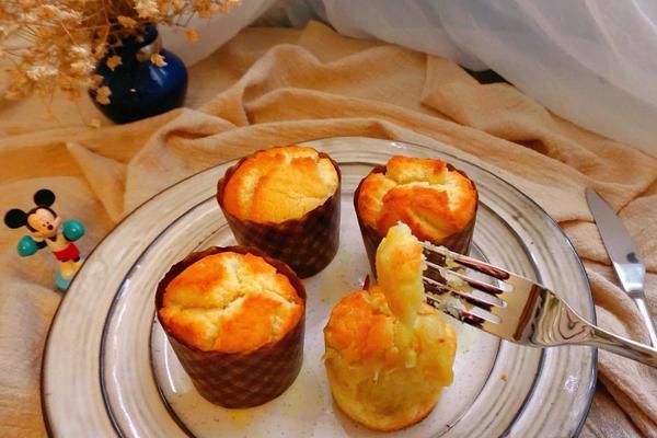 榴莲马芬蛋糕