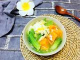 番薯鸡丝芥菜汤的做法[图]