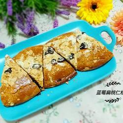 蓝莓扁桃仁松饼