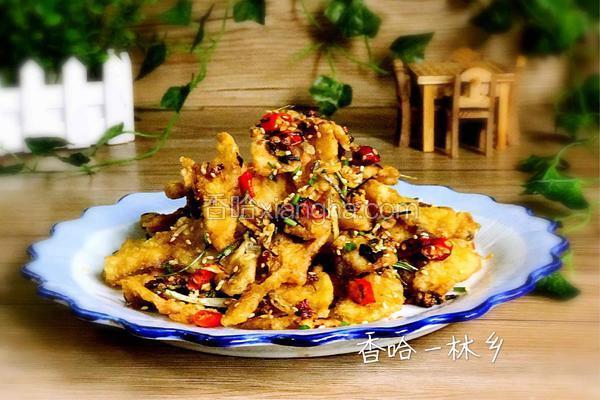 酥脆麻辣鱼片