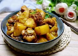 鸡翅根炖土豆