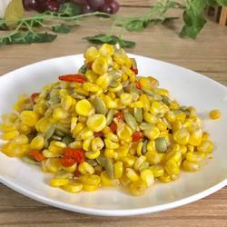 凉拌玉米南瓜子