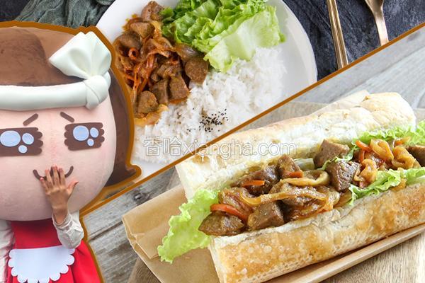 一菜二吃,超百搭日式照烧肉丸
