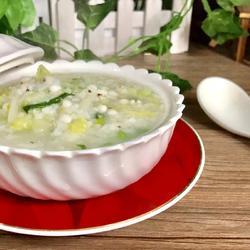 白菜薏苡仁粥