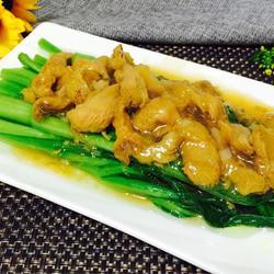 猴头菇扒菜心