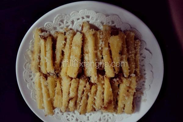 椰蓉红薯条