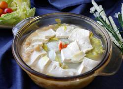 白菜豆腐沁瑶柱