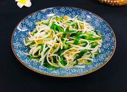 韭菜炒绿豆芽