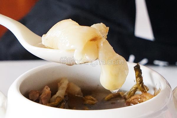 花旗参石斛花胶汤