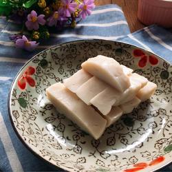藕粉椰汁糕
