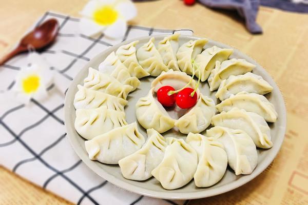 西洋菜猪肉饺