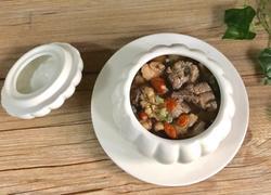 核桃腰果牛肉汤