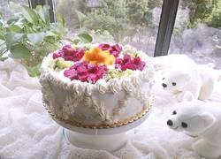 十寸水果蛋糕