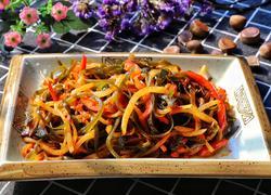 萝卜炒海带