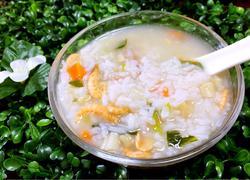 潮汕干贝虾米粥