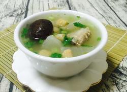 冬菇瑶柱排骨萝卜汤