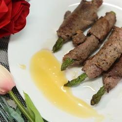 芦笋牛肉卷
