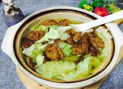 面筋白菜汤