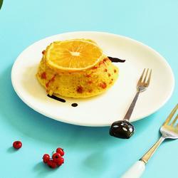 橙香枸杞碗糕