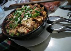 牛干巴砂锅饭
