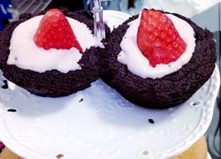 覆盆子草莓蛋糕