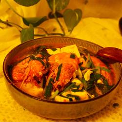 虾汤老豆腐
