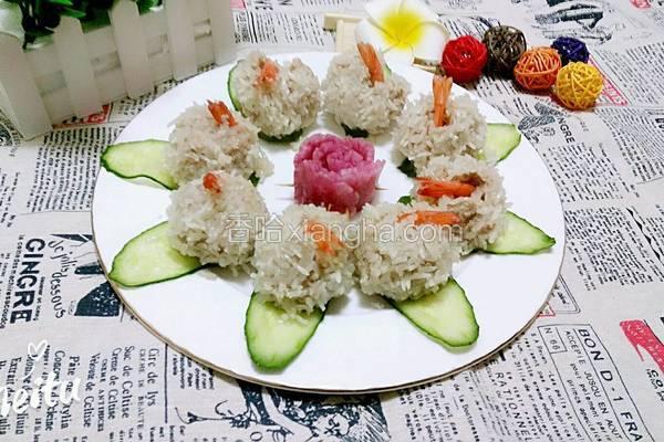 珍珠凤尾虾