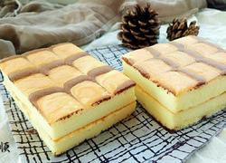 千叶纹海绵蛋糕三明治