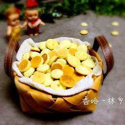 煎饼铛蛋黄饼干