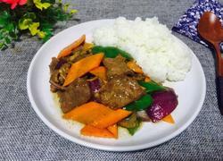 黑胡椒牛肉饭