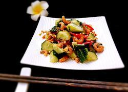 金钩海米拌黄瓜