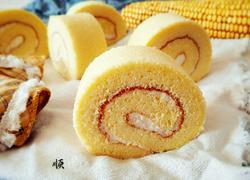 玉米面蛋糕卷