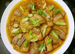 鲁菜大师蒋家菜五花肉烧豆腐