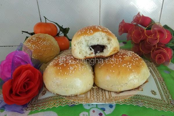 豆沙面包(手揉版)
