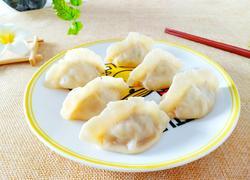韭菜肉蒸饺