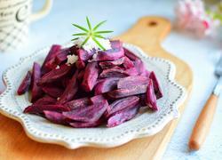 香酥紫薯条