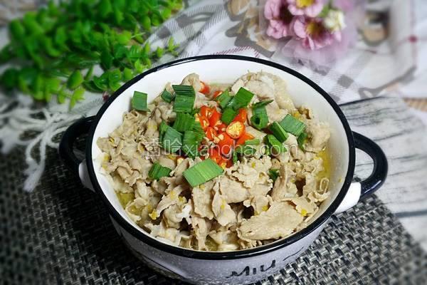 香菇薯粉汆肥羊